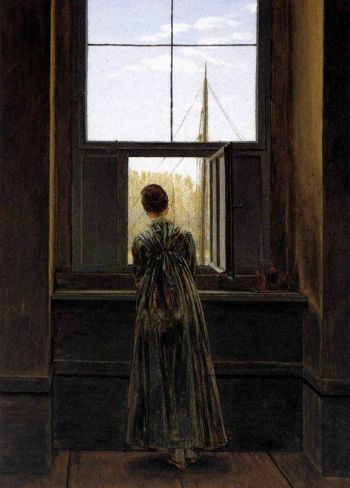 slide2-Caspar David Friedrich -Woman at a Window